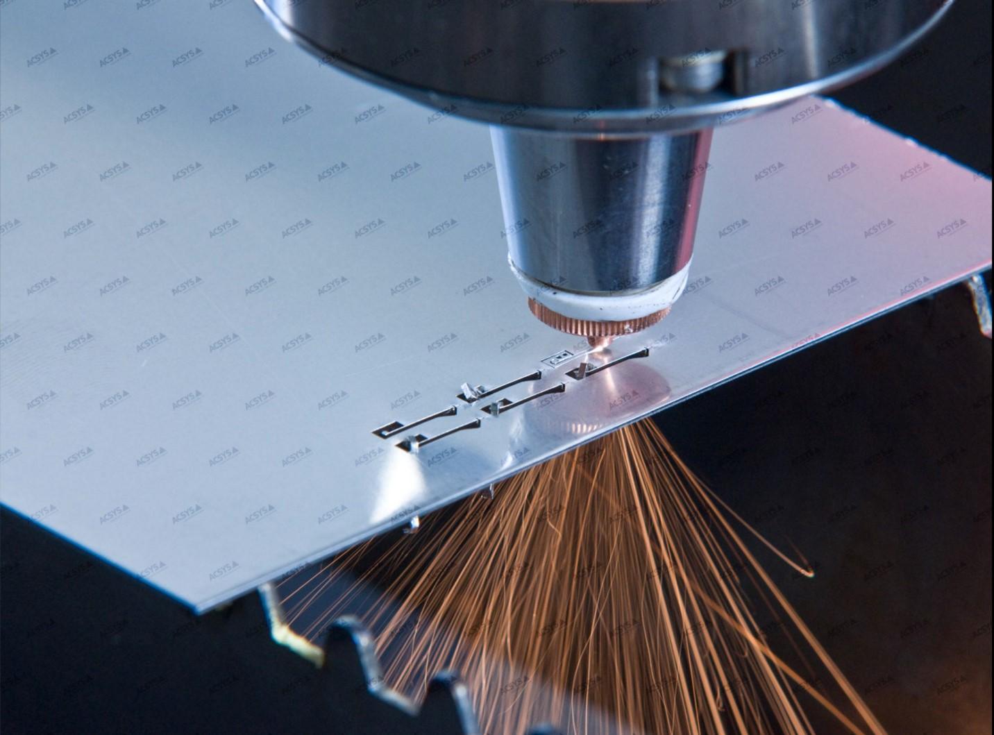 Những thuận lợi và khó khăn khi gia công kim loại bằng laser