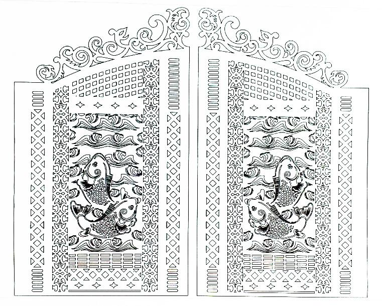 Hoa văn cổng 5
