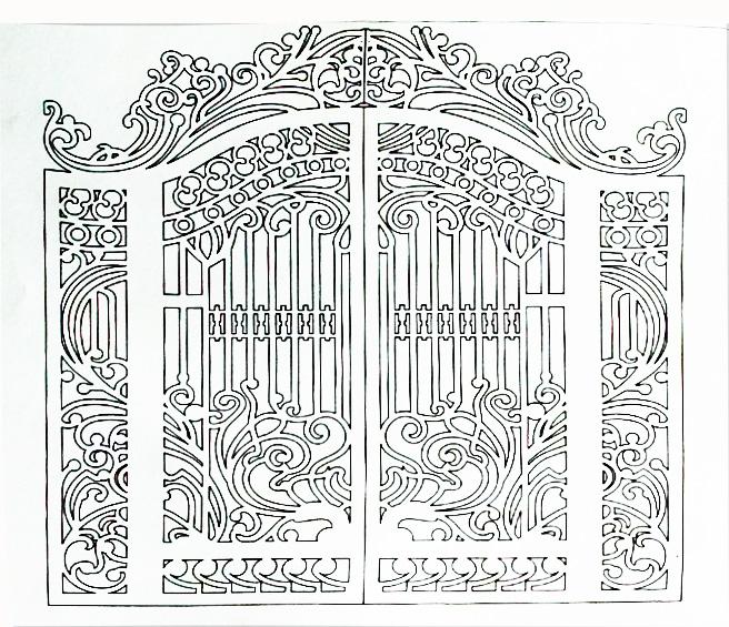 Hoa văn cổng 6